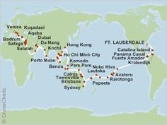 dream vacation right here...around the world cruise!