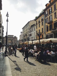 how about the lunch near 10 Corso Como?   Milano, Italy   by Vogue Korea