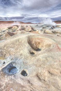 Geysers Sol De Mañana - Bolivia
