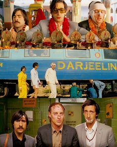 """""""I wonder if the three of us would've been friends in real life. Not as brothers, but as people."""" Darjeeling Limited"""