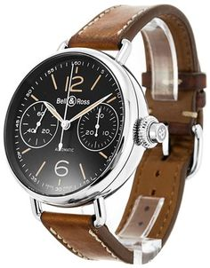 Bell and Ross Vintage WW1 BRWW1-MONO-HER/SCA - Product Code 65269