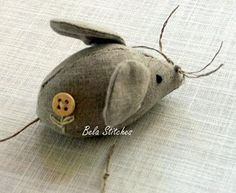 Pattern for Mouse from Marie Claire