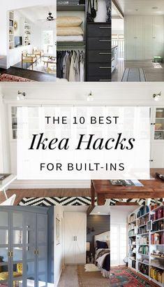 1 Ikea Hacks Built In Shelving