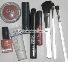 #Ulta 10-piece Here Comes The Sun #makeup set contents and #review @Renuka Retnaswamy MyBeautyJunction