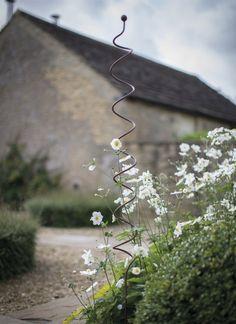 10 Easy Pieces: Essentials of the English Garden - Gardenista spiral-plant-support-gardenista