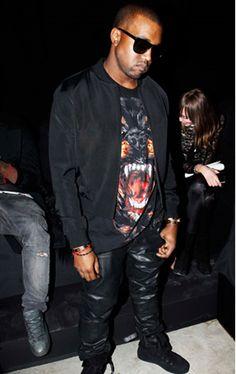 Everyone's Wearing Givenchy T-shirts: Kanye West | Grazia Fashion