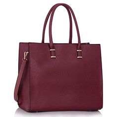 Top Handle Bags For Women Ladies Designer Faux Leather Shoulder Tote Bags ** Additional details @