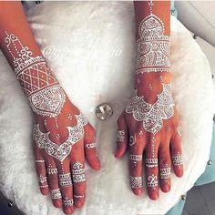110 Best White Henna Images Henna Tattoos Henna Designs White Henna