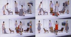 Hussein Chalayan F/W 2000 - wearable furniture