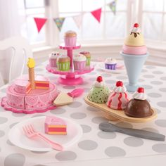 Kid Kraft Pink Tiered Celebration Cake - 63382