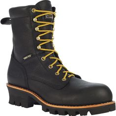 The Rocky Great Oak Gore-Tex® Waterproof, Composite Toe EH Logger Boot offers durability and comfort and keeps your feet safe whil. Best Boots For Men, Men Boots, Rocky Boots, Shoe Cobbler, Logger Boots, Sunglasses Outlet, Designer Boots, Cool Boots, Gore Tex