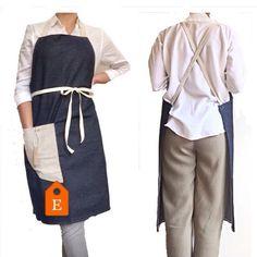 Look smart in the #kitchen #homedesign #naturalfabrics #homecooking #giftforthim @etsy #denim #aprons #homegoods #bohohome #dining #dinnerparty #minimalism #stylish