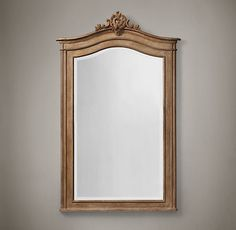 "Carved Acanthus Mirror  Dimensions 42½""W x 4¼""D x 67¼""H Weight: 81.5 lbs.  @ 20% off =  $1036 each or $2072 for 2"