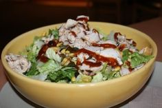 Barbecue Grilled Chicken Chopped Salad - Panera Bread Gluten Free Menu