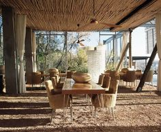 Singita Lebombo Lodge, Kruger National Park. Andrew Makin. Dwelling between earth and sky. Spirit