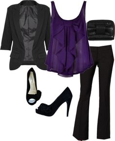 """""""Complete Wear to Work Outfit for $101"""" by ..."""