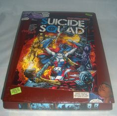 § Suicide #Squad Comic Book #Recycled Wooden Cigar #Box by CurbedEarth #handcrafted http://etsy.me/2m1pUDN
