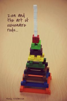 Learning Out Loud: zen and the art of cuisenaire rods....