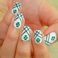 Simple Nail Art Designs That You Can Do Yourself – Your Beautiful Nails Cute Nails, Pretty Nails, My Nails, Smart Nails, St Patricks Nail Designs, Sant Patrick, Irish Nails, St Patricks Day Nails, Gel Nails At Home
