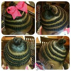 Hair of the week.  #zoeystyles