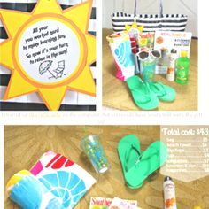 Cute idea for end of the school year gifts.