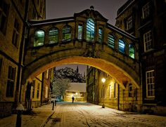 Bridge of Sighs, Oxford | 18 British Views To Make Your Jaw Drop