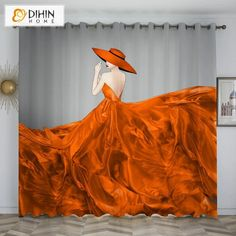 DIHINHOME Home Textile Kid's Curtain DIHIN HOME 3D Printed Nice Girl Blackout Curtains,Window Curtains Grommet Curtain For Living Room ,39x102-inch,2 Panels Included Printed Curtains, Kids Curtains, Window Curtains, Rod Pocket Curtains, Grommet Curtains, Blackout Curtains, Curtain Length, Nice Girl