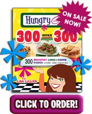 Hungry Girl.... a quirky, fun website with tips on healthy foods to buy in store, healthified recipes, advice and more...Lisa Lillien has cookbooks, the website, and a popular show on Food Network...check it out