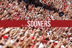 We are SOONERS!