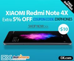 -$10! Huge Bargains on Xiaomi Redmi Note 4X