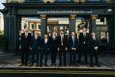 Groomsmen urban city portrait Image by Babb Photo - A London Autumnal wedding at the Londesborough pub in Stoke Newington with a bespoke wedding dress and photography by Babb Photo. Creative Photography, Family Photography, Wedding Photography, Mismatched Bridesmaid Dresses, Wedding Dresses, Fall Bouquets, Portrait Images, Looking Dapper, Wedding Photos