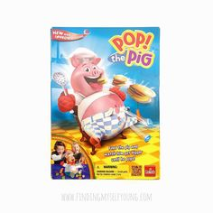 Finding Myself Young: Pop the Pig game review. Awesome educational game for preschoolers.
