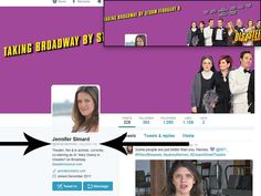 Jennifer Simard, Tony Award Nominee for Best Featured Actress In A Musical as Sr. Mary Downy in Disaster, followed us on Twitter. Yes, we are excited! #theatre #Broadway #Tonys #PutSimardOn Tony Award, Follow Us On Twitter, Downy, Theatre, Connect, Musicals, Broadway, Mary, In This Moment