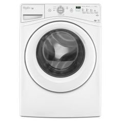 Whirlpool Duet 4.1 cu. ft. High-Efficiency Front Load Washer in White, ENERGY STAR-WFW70HEBW at The Home Depot $799