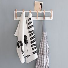really want this peg/hook rack from west elm. wheels turning, how can i recreate this...