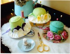 Milliner's Pins - fabulous felt pincushions pattern | eBay