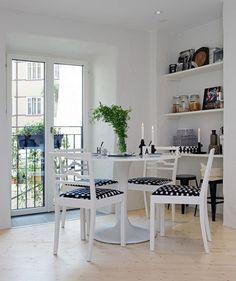 Студия в скандинавском стиле площадью 48 кв.м - Дизайн интерьеров   Идеи вашего дома   Lodgers