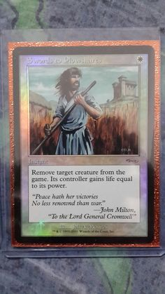 Swords to Plowshares FNM promo