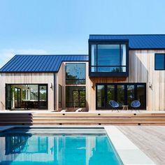 "Studio Zung creates cedar-clad ""modern barn"" in the Hamptons"
