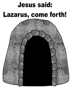 Lazarus Lives! Lift-the-Flap Freebie