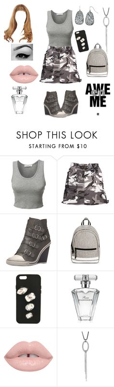 """""""Yup Awe So Me"""" by gigiglow ❤ liked on Polyvore featuring LE3NO, Rothco, Ash, Mossimo Supply Co., STELLA McCARTNEY and Avon"""
