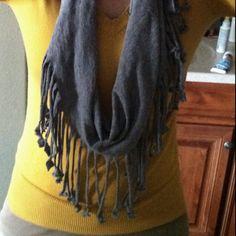 Made my first Tshirt scarf!
