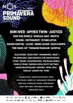 É Primavera e NOS temos Sound!  Começa hoje o NOS Primavera Sound 2017 no Parque da Cidade do Porto Nomes de vulto da atualidade musical, como Bom Iver, Aphex Twin e Justice, entre muitos outros, completam uma oferta diversificada para todos os gostos.