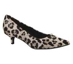 Sapato scarpin estampa de onça | Sapatos | Bottero Calçados