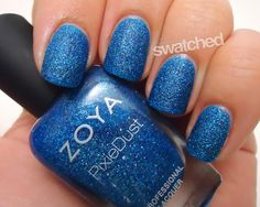 Seriously Swatched: Swatch & Review - Zoya Summer 2013 PixieDust Collection: Zoya Nail Polish in Liberty