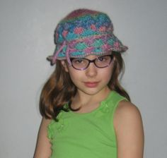Spring Hat by BrendaJBoutique on Etsy