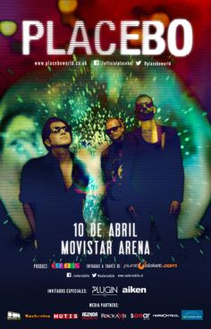 Placebo - 10 de abril - Movistar Arena