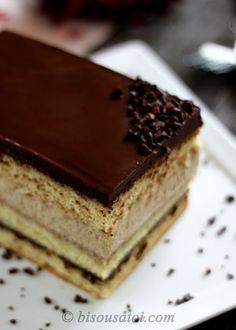 Opera Cheesecake.