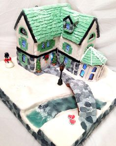Gingerbread house  - Cake by Lara Clarke