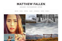 Ella - Photography Wordpress Theme by VSThemes on Creative Market